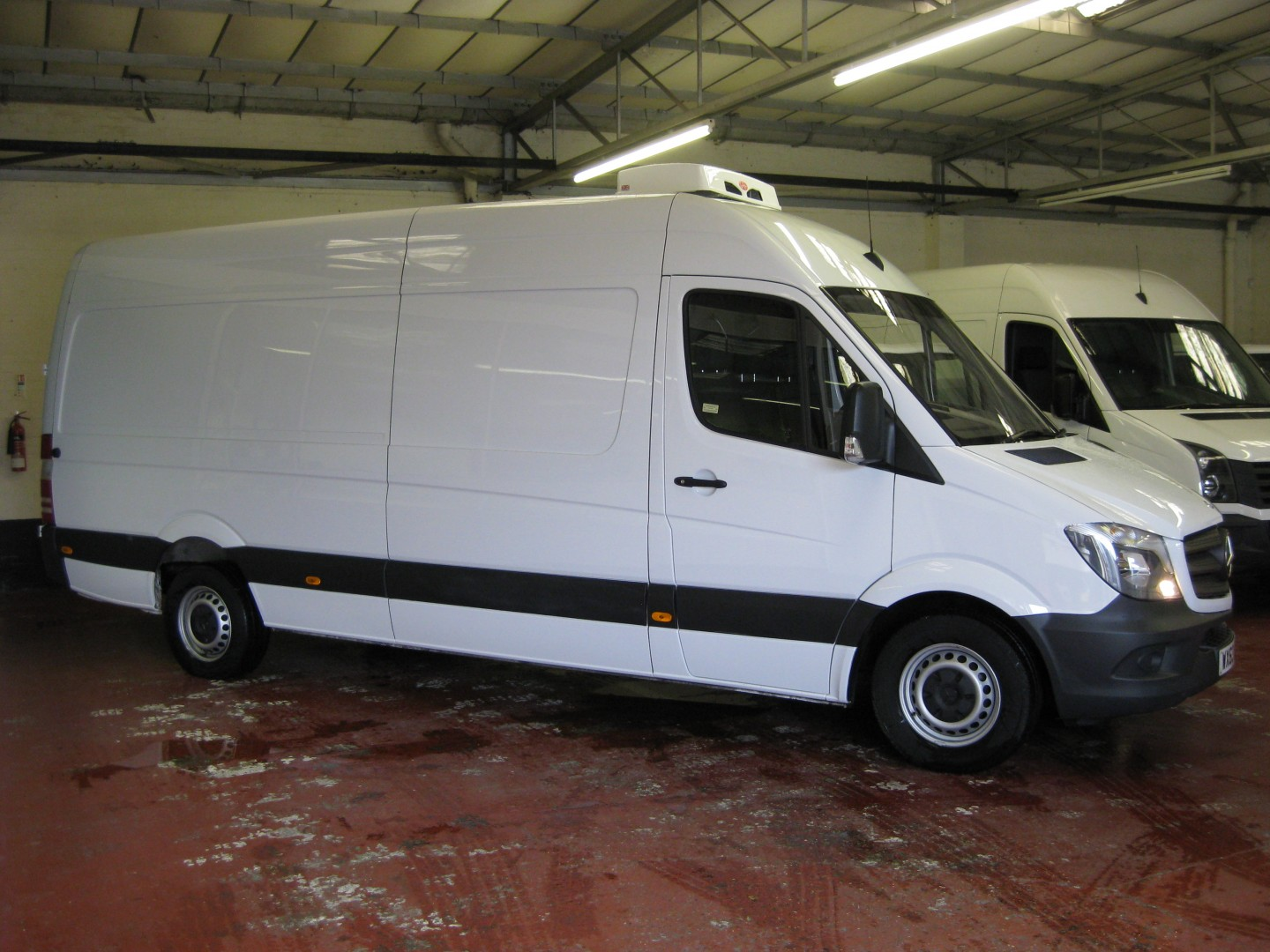 1c34f8aeac4469 MERCEDES SPRINTER 313 LWB HIGH ROOF FREEZER VAN